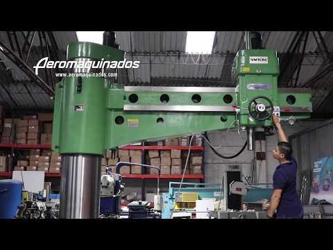 Taladro Radial - Máquina de perforación 80 mm - Aeromaquinados