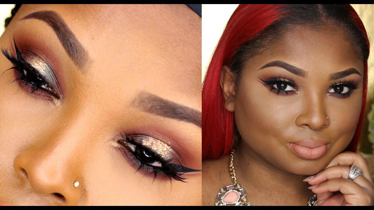 Full Face Makeup Wedding : Sephora+Pantone Universe Marsala palette Makeup tutorial ...