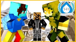 MINECRAFT SUPERHERO HIGHSCHOOL ► Episode 1 - DOOM AT THE HARBOR! (Minecraft Roleplay)