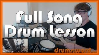 ★ Under Pressure (Queen) ★ Drum Lesson PREVIEW | How to Play Song (Roger Taylor)
