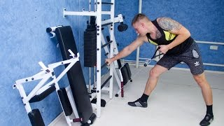 Усиленная шведская стенка с блочным тренажером - многофункциональный тренажер для дома(, 2016-12-21T08:25:58.000Z)