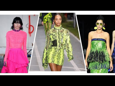 How To Wear The Neon Trend That Celebrities Can't Stop Wearing | Must-Have Moments