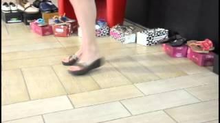 видео Женские шлепанцы