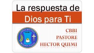LA RESPUESTA DE DIOS PARA TI N 67 La paciencia de Dios.