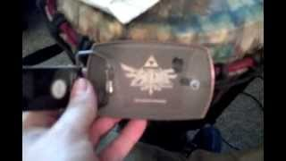 Zelda copper crest buckle Power up reward unboxing