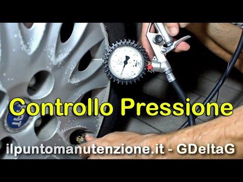 Controllo Pressione Pneumatici