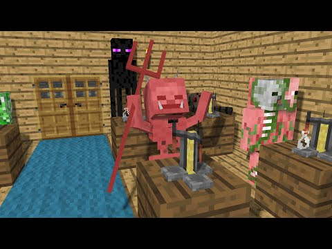 Thumbnail: Monster School: Brewing - Minecraft Animation