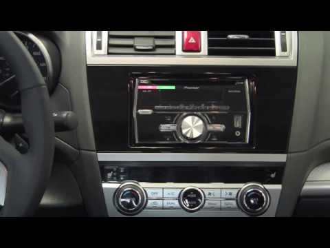2015 Subaru Legacy 7 Starlink Radio Nav Disassembly