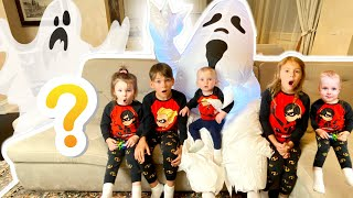 Five Kids Ghost Adventures + more Children's Videos and Songs