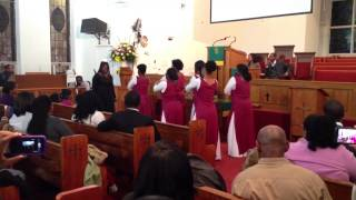 "Praise Dance: ""Waging War"" by CeCe Winans @ Stamford"