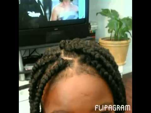 Crochet Box Braids With Rubber Bands : 20/15 - Box Braids (using my Rubber band Technique) - YouTube