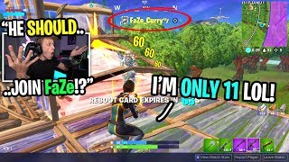 I met a FAKE FaZe member and was SHOCKED at how good he was... (he's ONLY 11!)