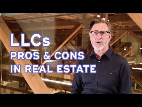 Pros and cons of LLCs for real estate rentals