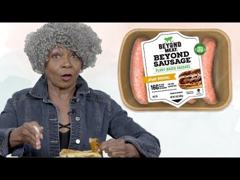 Baby Boomers Try Vegan Sausage   LIVEKINDLY