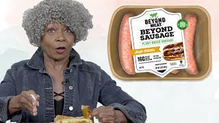 Baby Boomers Try Vegan Sausage | LIVEKINDLY