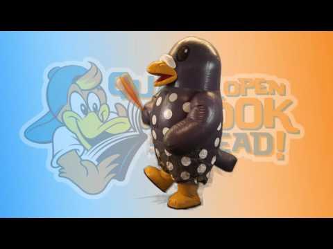 2016 Akron RubberDucks Quack Open a Book Program