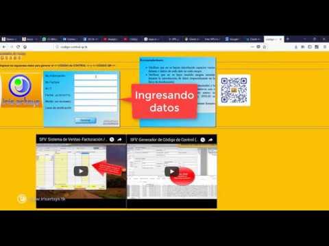 WEB para verificar Código de Control - Código QR - Sistemas de #Facturación
