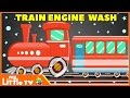 Train Wash | Car Wash Videos for Children | Kids Videos | My Little TV