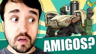 ELE É SEU AMIGO! - Overwatch com Leon