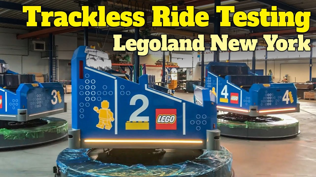Legoland New York Reveals Trackless Ride Technology Testing and Pre-Visualization