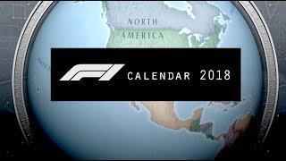 Formula 1 2018 Season | Official Race Calendar & Dates