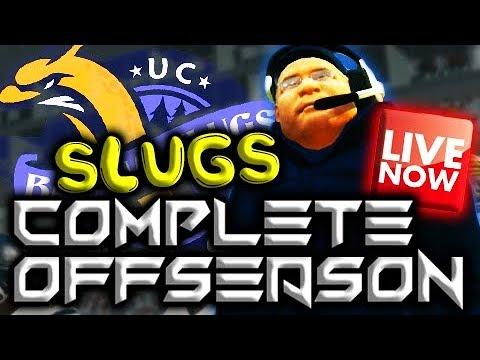 UCSC BANANA SLUGS COMPLETE OFFSEASON STREAM!!!
