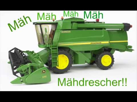 john deere m hdrescher song youtube. Black Bedroom Furniture Sets. Home Design Ideas