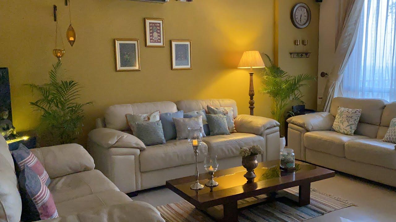 Summer Setting/ Living room