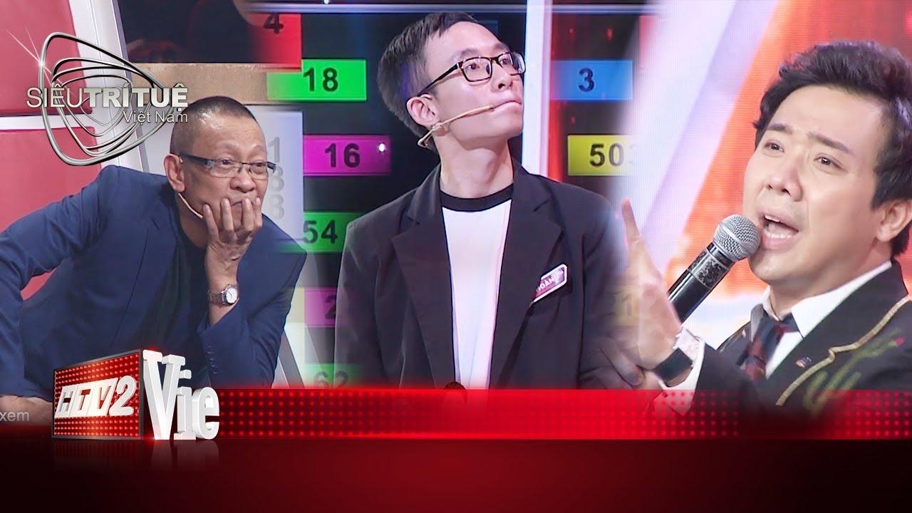 image Phù thủy toán học Huy Hoàng ghi dấu với cú lội ngược dòng thay đổi tỉ số I #10 SIÊU TRÍ TUỆ VIỆT NAM