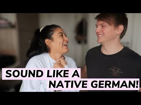 TIPS TO SOUND LIKE A NATIVE GERMAN SPEAKER: Learn german fast for beginners.  AD | Nicole & Marvin