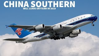China Southern will Quit Skyteam