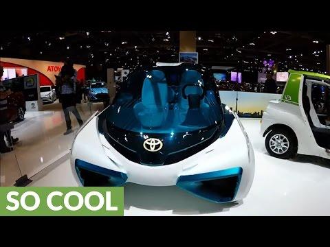 Futuristic concept car holds impossible puzzle