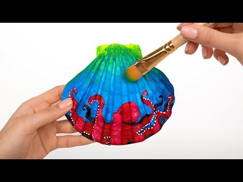 Painting Seashells | Show Your Imagination!