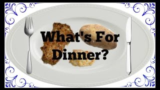 What's For Dinner? Episode 2: Porkchops, Twice Baked Potatoes, Cheesy Garlic Biscuits