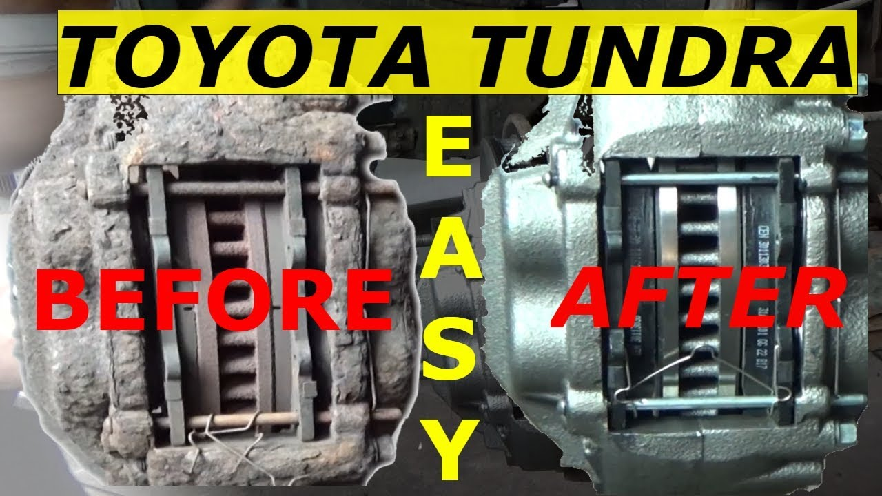 small resolution of front brakes calipers and rotors toyota tundra