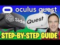 HOW TO INSTALL SIDEQUEST ON OCULUS QUEST 2 & 1 | Step-By-Step Guide