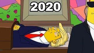 Los Simpson Predijeron Cosas PERTURBADORAS para el 2020
