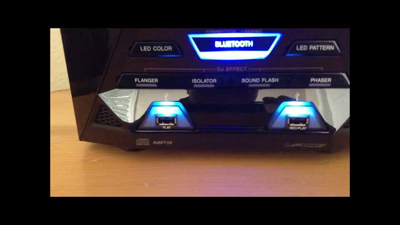 New Sony Lbt Gpx55 1600w Shelf System Full Review Youtube