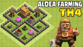 El mejor diseño de Aldea Farming Ayuntamiento Nivel 4   Clash of Clans
