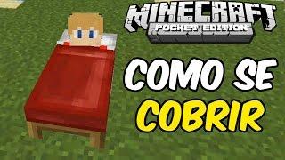 Minecraft PE 0.16.0: COMO SE COBRIR (Sem Mods)