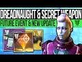 Destiny 2 | DREADNAUGHT GLITCH & SECRET WEAPON! Hive Ship, New Content, Arms Modifiers & Bug Fixes!