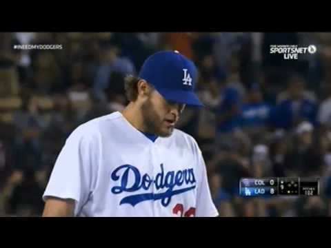 Kershaw's No Hitter Dodgers vs. Rockies 6-18-14