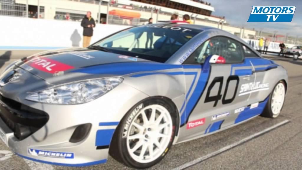 Peugeot Rcz Racing Cup Le Castellet Youtube