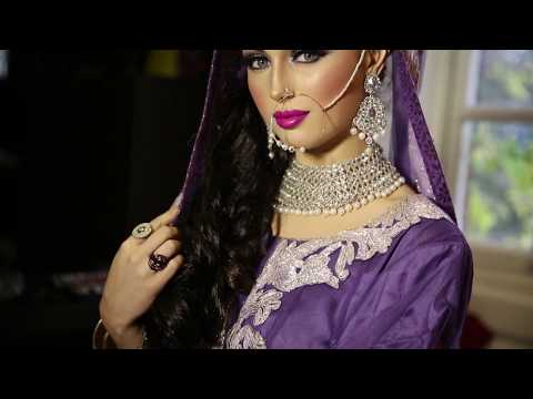 Modern Bridal Walima look