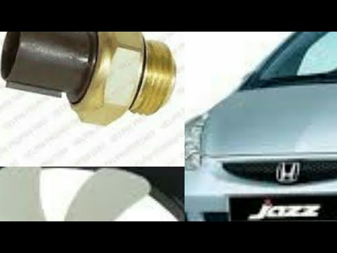 Honda Jazz (Fit) Cooling fan Switch Replacement DIY idsi