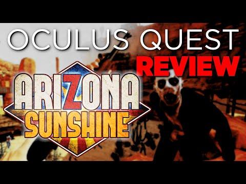 ASI ES Arizona Sunshine ¡REVIEW! ¿EL MEJOR JUEGO de OCULUS QUEST?