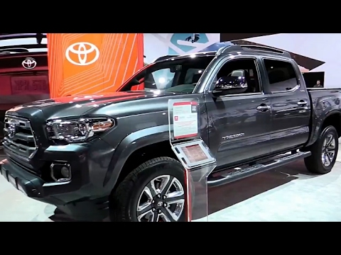 2017 Toyota Tacoma Limited Edition Exterior And Interior First Impression Look In 4k Youtube