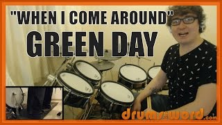 ★ When I Come Around (Green Day) ★ Drum Lesson PREVIEW   How To Play Song (Tre Cool)