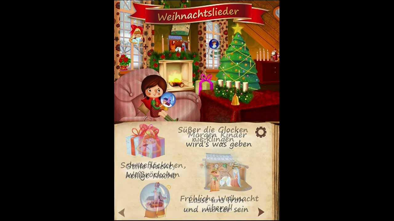 Deutsche Weihnachtslieder App für die ganze Familie - YouTube
