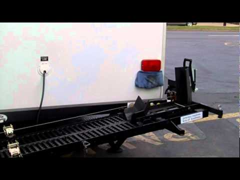 Motorcycle Rv Lift Hauler Youtube